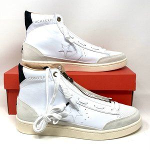 Converse Pro Leather MidTop Egret White Sneakers M